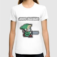 gaming T-shirts featuring JUST GAMING by Edgar
