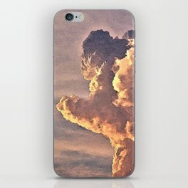 The Rush of Angry Clouds iPhone Skin