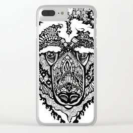 Spirit Bear Clear iPhone Case