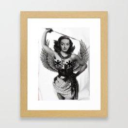 Warrior Bette Framed Art Print