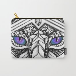 Ornate Hairless Cat Carry-All Pouch