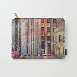 Radio City NYC Carry-All Pouch