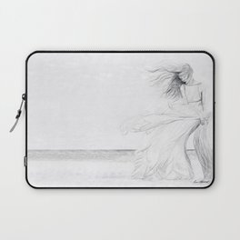 Gracefully Weathering the Storm Laptop Sleeve