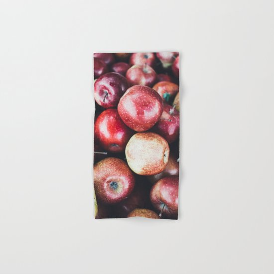 Red Apples Hand & Bath Towel