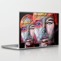 mirror Laptop & iPad Skins featuring mirror by Irmak Akcadogan