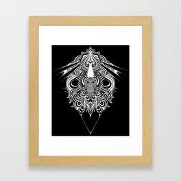 Meditation I Framed Art Print