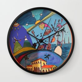 Canica 8 Wall Clock