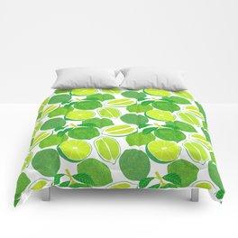 Lime Harvest Comforters