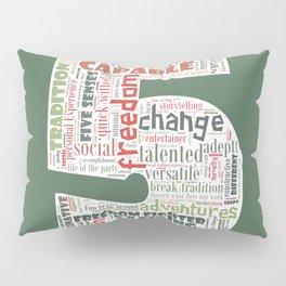 Life Path 5 (color background) Pillow Sham