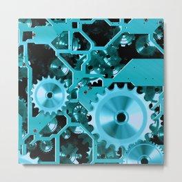 Like Clockwork Metal Print