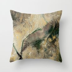 Arizona Nevada North America Throw Pillow