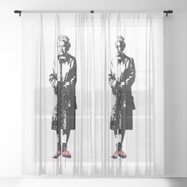 This is England Sheer Curtain