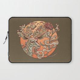 Deer Smoke & Indian Paintbrush Laptop Sleeve