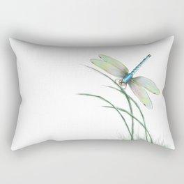 Peaceful Pause Rectangular Pillow
