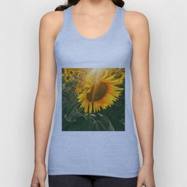 summer in the fields Unisex Tank Top