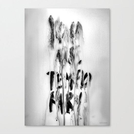 Temporary (take 2) Canvas Print
