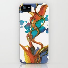 Vuelo de colibrí. 1 iPhone Case