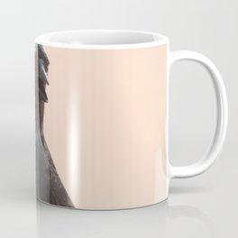Black Crow Close Up Coffee Mug