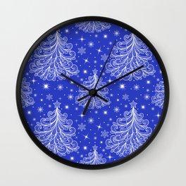 Christmas pattern Wall Clock