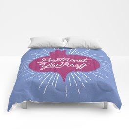 Beetroot to Yourself Comforters