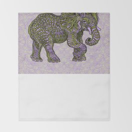 Elephant~ the beautiful beast Throw Blanket