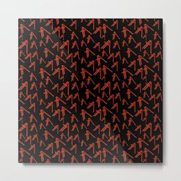 Red ladder billie Metal Print