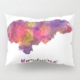 Honduras  in watercolor Pillow Sham