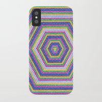 bender iPhone & iPod Cases featuring Mind Bender by Abstract Graph Designs