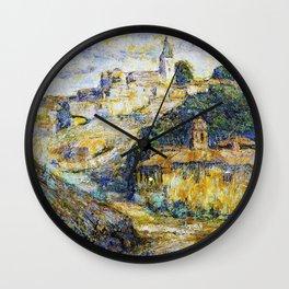 Ernest Lawson - Twilight in Spain - Digital Remastered Edition Wall Clock