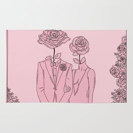 Wildest lovers digital art Rug