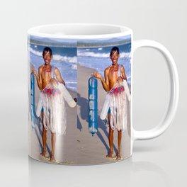 FISHERMAN - BEACH - VIETNAM - ASIA Coffee Mug