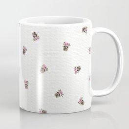 Baby Raccoon with Flower Crown Coffee Mug