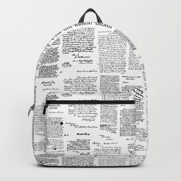 George Washington's Letters Backpack