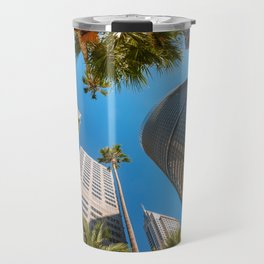Look up in the City of Sydney Travel Mug