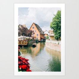 La Petite Venise Colmar Art Print