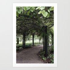Hyde Park, London Art Print