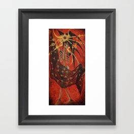 Death's Wonderland Framed Art Print