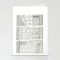 the neighbourhood Stationery Cards featuring Neighbourhood by Willy Ollero