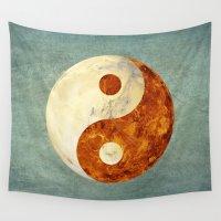 venus Wall Tapestries featuring Mars & Venus  by Klara Acel