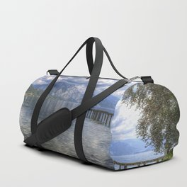 Traunsee Lake Altmunster Austria Duffle Bag