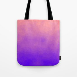 Pink and Purple Ombre - Swirly Tote Bag