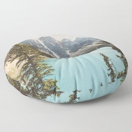 Moraine Lake II Banff National Park Floor Pillow