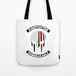Firefighter Unbreakable Tote Bag