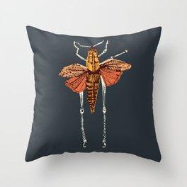 The Beatle Throw Pillow