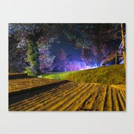 Neon Panic Canvas Print