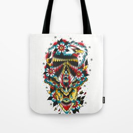 Eagle and eyes Tote Bag