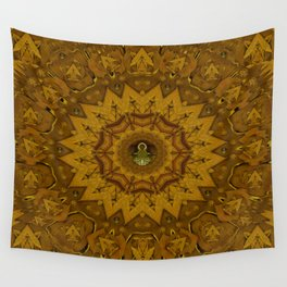 I only say it once its leather in a pattern style. Wall Tapestry