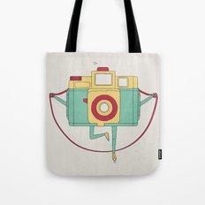 1, 2, 3, click! Tote Bag