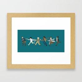 Pass it Along - Cloud Atlas  Framed Art Print