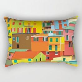 Manarola, Cinque Terre, Italy Rectangular Pillow
